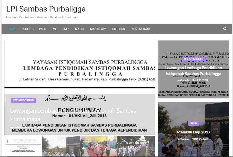 LP Istiqomah Sambas