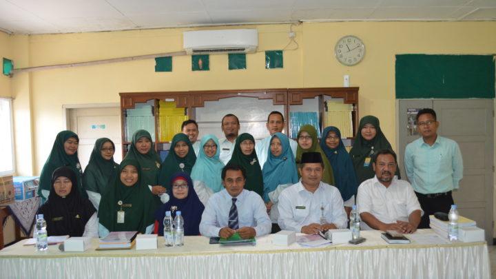 Visitasi Akreditasi 2019 MI Istiqomah Sambas