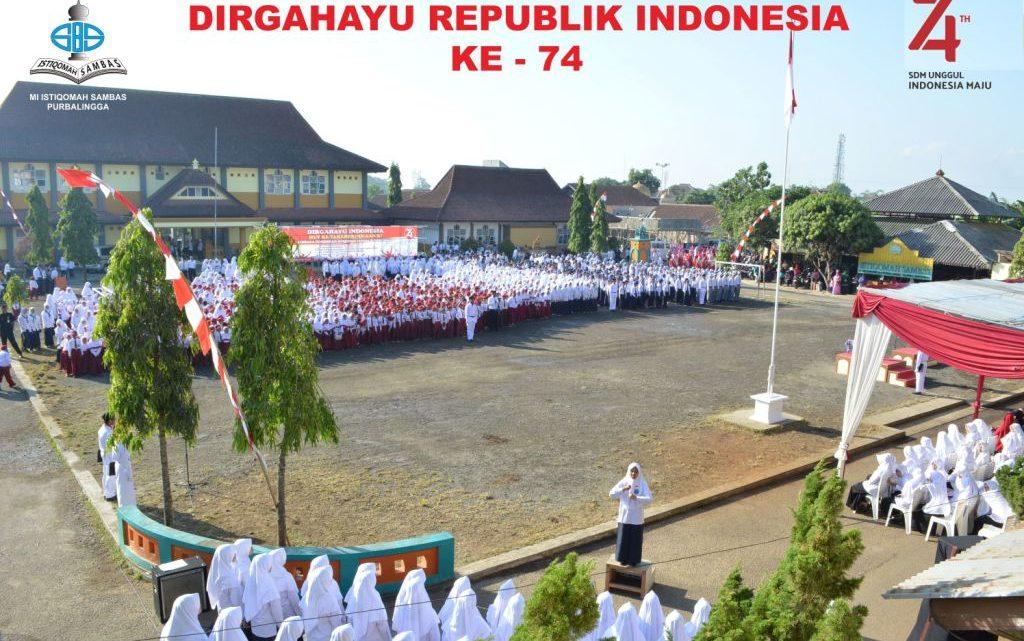 Upacara HUT Ke -74 Republik Indonesia