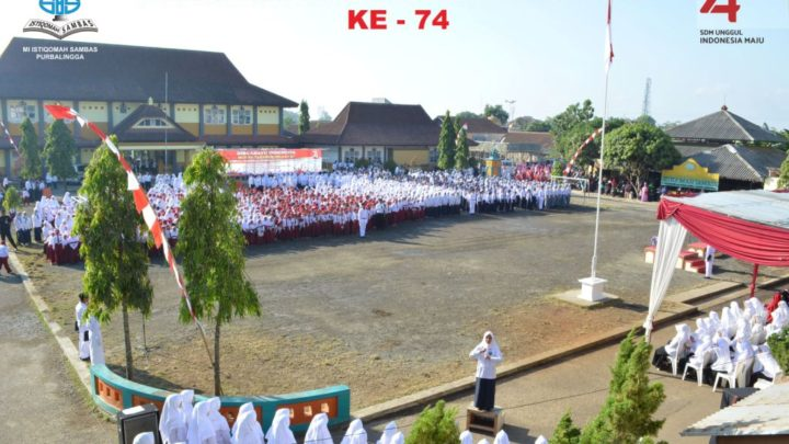 Upacara HUT Ke -74 Republik Indonesia