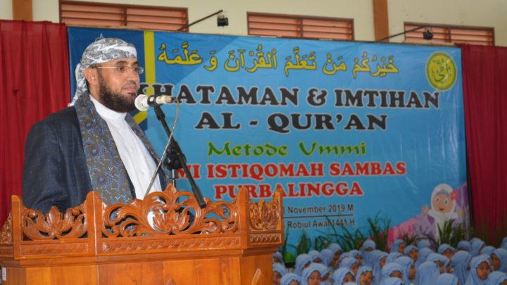 Khataman & Imtihan Al Qur'an Metode Ummi MI Istiqomah Sambas Purbalingga Tahun 2019