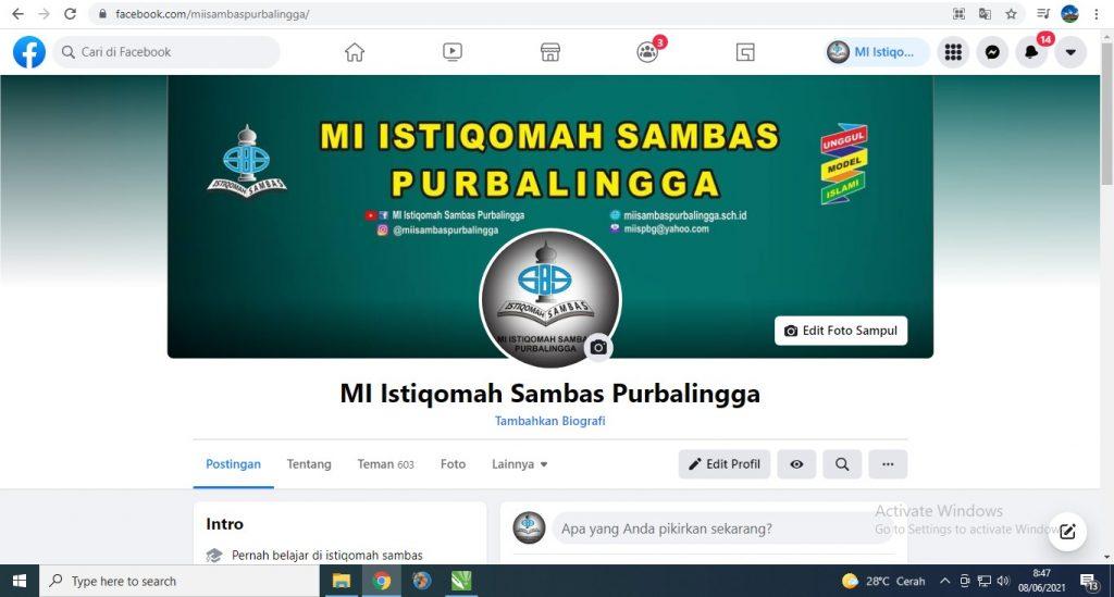 Facebook MI Istiqomah Sambas Purbalingga
