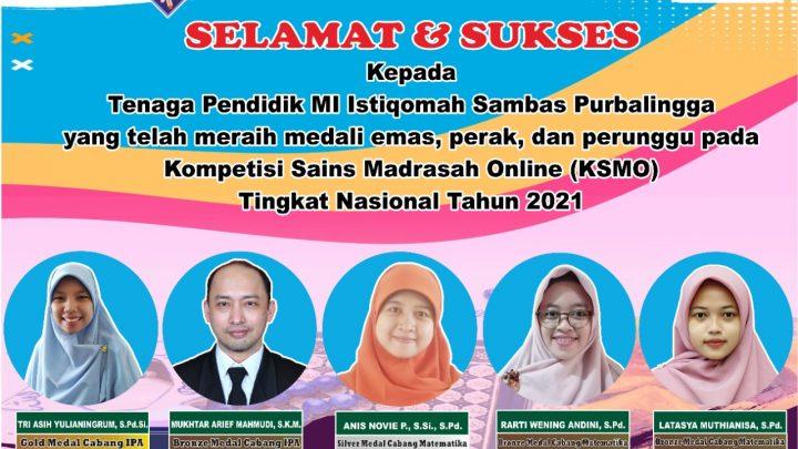 Kompetisi Sains Madrasah Online Tingkat Nasional (Jenjang Guru)