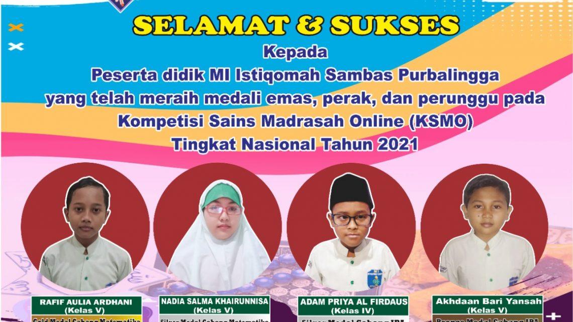 Kompetisi Sains Madrasah Online Tingkat Nasional 2021 (Jenjang Siswa)