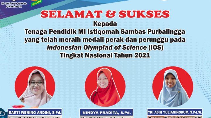 Indonesian Olympiad of Science (IOS) Tingkat Nasional (Guru)