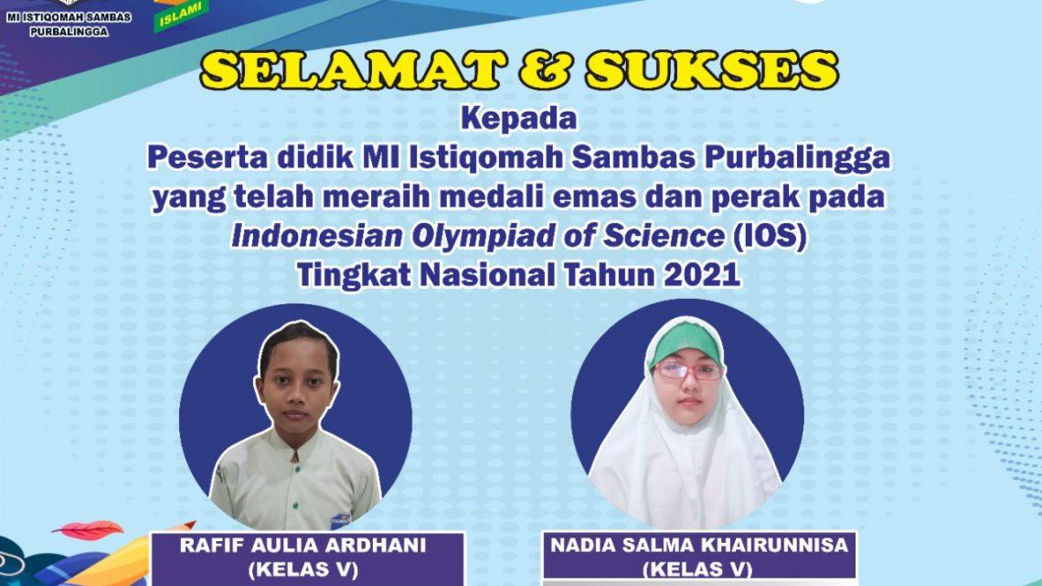 Indonesian Olympiad of Science (IOS) Tingkat Nasional (Siswa)
